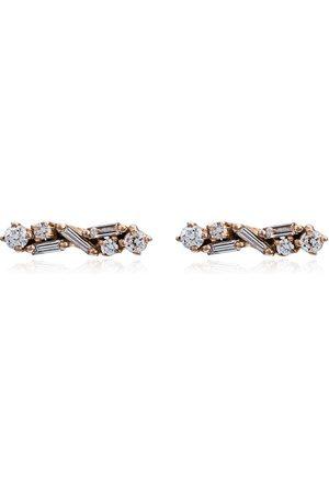Suzanne Kalan Pendientes con diamantes