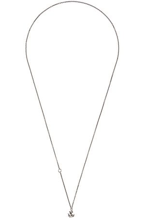 WERKSTATT:MÜNCHEN Collar de cadena con ancla mini