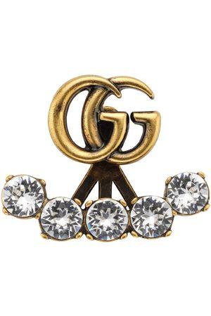 Gucci Pendiente individual con Doble G de cristal