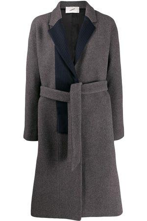 COPERNI Abrigo con panel de rayas