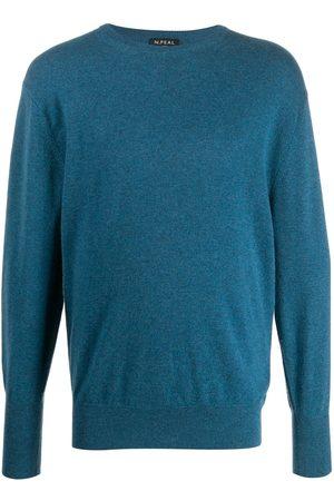 N.PEAL Hombre Jerséis y suéteres - Jersey con cuello redondo