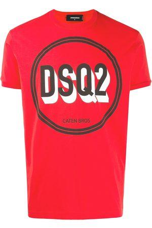 Dsquared2 Camiseta con estampado de círculo y logo
