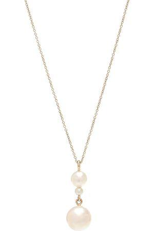 SOPHIE BILLE BRAHE Exclusivo en Mytheresa – collar Perla Simple de oro amarillo de 14 ct y perlas