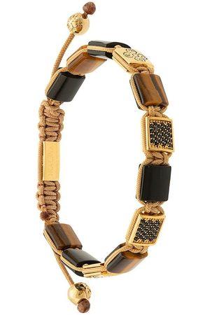 Nialaya Jewelry Pulsera ajustable con piedras