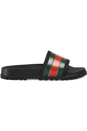 Gucci Hombre Zapatos - Sandalia tipo chancla con tribanda