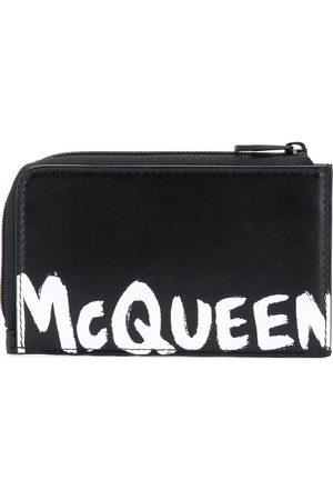 Alexander McQueen Logo print coin pouch cardholder