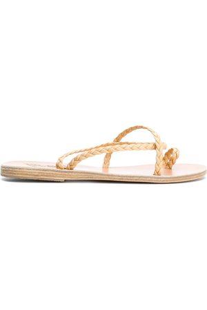 Ancient Greek Sandals Sandalias planas Eleftheria