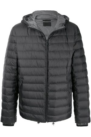 Prada Hooded puffer jacket