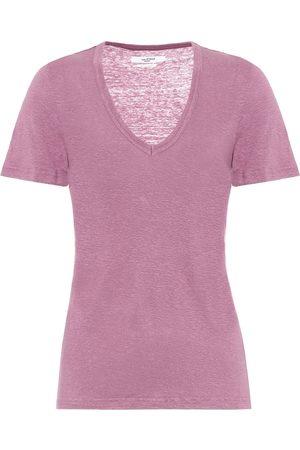 Isabel Marant, Étoile Camiseta Kranger de lino