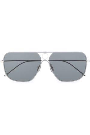 Thom Browne Gafas de sol con montura rectangular