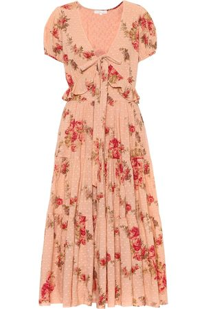 LOVESHACKFANCY Vestido Carlton de algodón floral