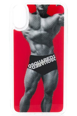 Dsquared2 Funda para iPhone X estampada
