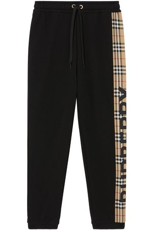 Burberry Vintage Check panel track pants