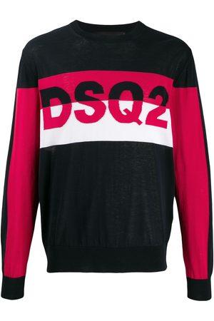Dsquared2 Panelled logo jumper