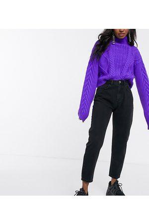 Reclaimed Vintage Mujer Cintura alta - Vaqueros de corte slim tapered en negro The '89 de