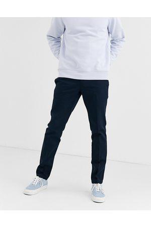 Dickies Pantalones de corte slim de trabajo en azul marino oscuro 872 de