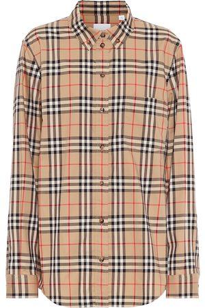 Burberry Camisa Vintage Check de algodón