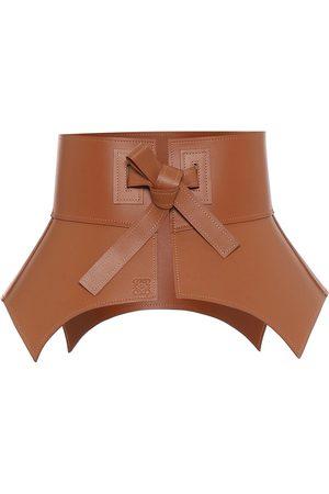 Loewe Cinturón corsé de piel