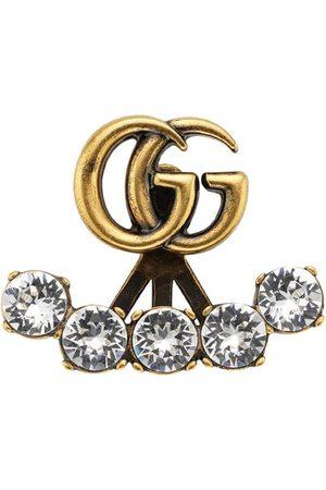Gucci Pendientes con doble G y detalles