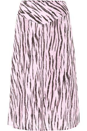 Baum und Pferdgarten Mujer Midi - Exclusivo en Mytheresa – falda midi Senga con estampado de serpiente