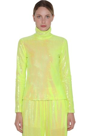 MM6 MAISON MARGIELA Mujer Tops - Sequined L/s Top
