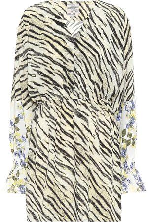 Baum und Pferdgarten Exclusivo en Mytheresa – Vestido corto Ariana con print de tigre