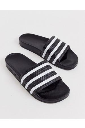 adidas Sandalias en negro Adilette de