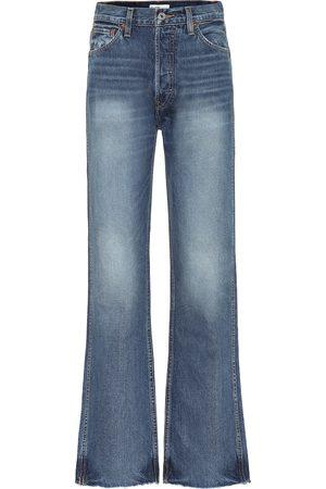 RE/DONE Jeans anchos de tiro alto