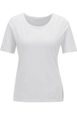HUGO BOSS Mujer Tops - Top de punto elástico slim fit con ribetes de seda