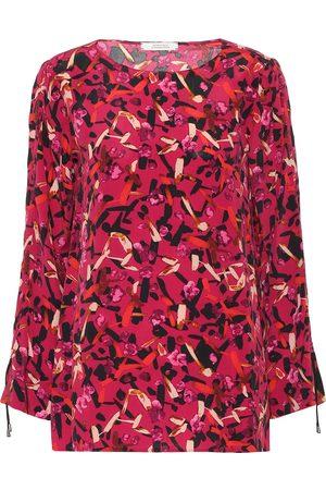 Dorothee Schumacher Exclusivo en Mytheresa – blusa en mezcla de seda estampada