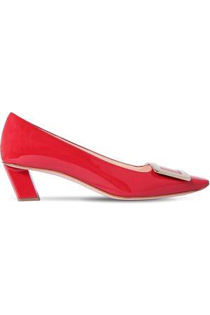 "Roger Vivier Zapatos ""belle Vivier"" De Charol 45mm"