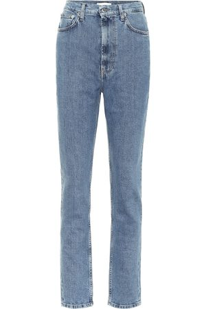 Helmut Lang Jeans ajustados de tiro alto