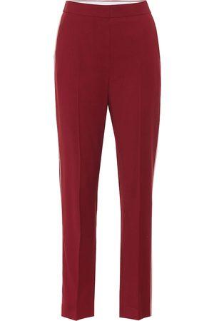 Roksanda Pantalones de crepé de lana