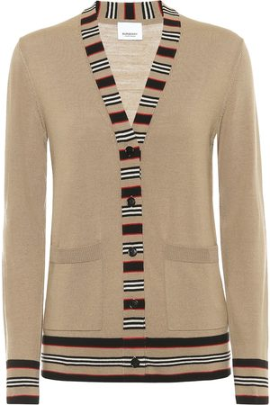 Burberry Cárdigan Icon Stripe de lana