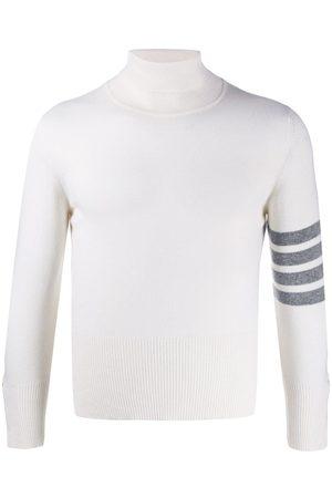 Thom Browne Jersey con cuello alto y cuatro barras