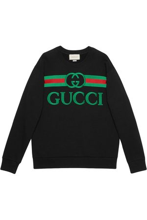 Gucci Embroidered logo sweatshirt