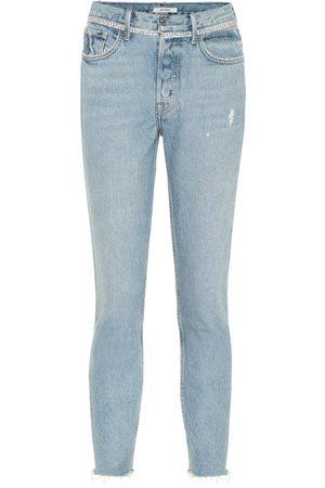 GRLFRND Karolina embellished skinny jeans