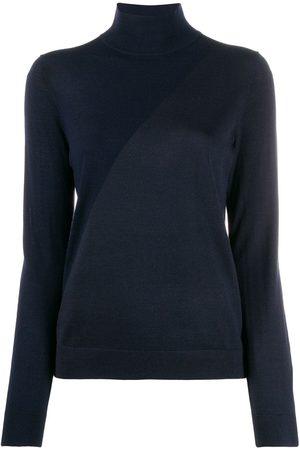 PRINGLE OF SCOTLAND Jersey con diseño colour block y cuello vuelto
