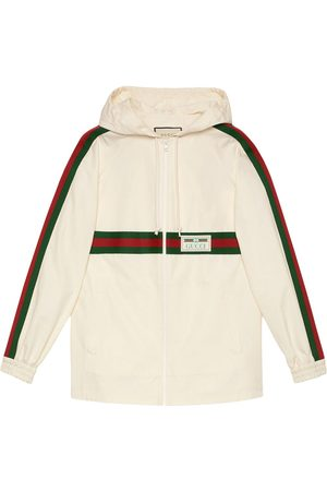 Gucci Logo patch hoodie