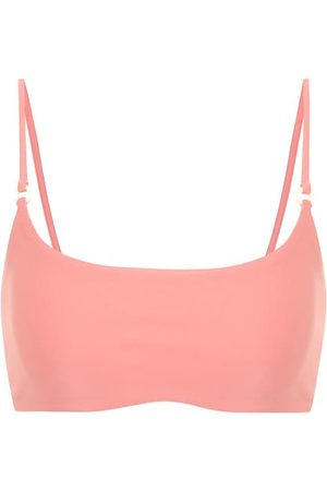 Jade Swim Top de bikini Hinge