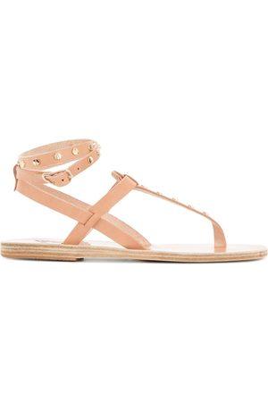 Ancient Greek Sandals Sandalias con apliques y barra en T
