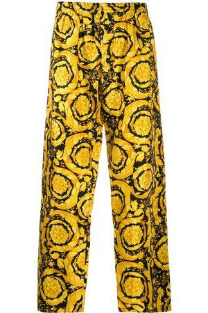 VERSACE Hombre Pijamas - Pantalones de pijama con estampado Barocco