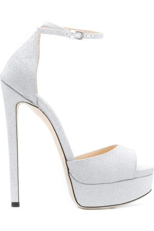 Jimmy choo Sandalias Max de 150mm con purpurina