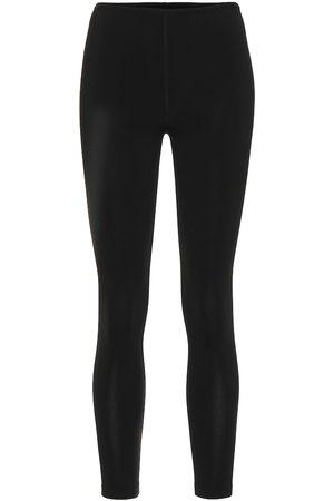 Alaïa Pantalones skinny de punto