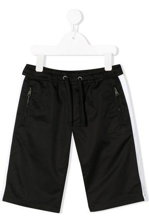 Dolce & Gabbana Stripe track shorts