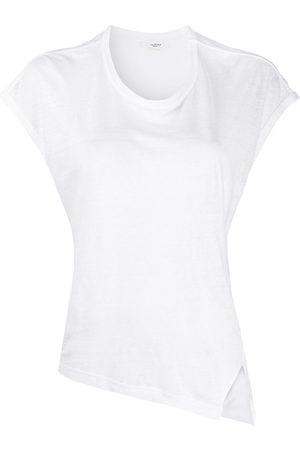 Isabel Marant Camiseta con dobladillo asimétrico