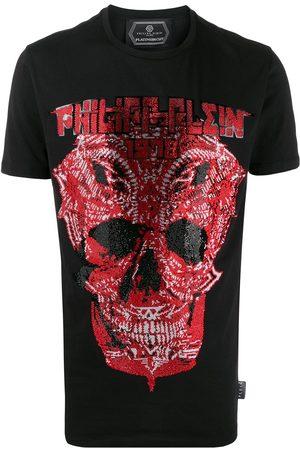 Philipp Plein Camiseta de manga corta con calavera con detalles