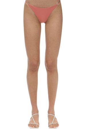 Jade Swim | Mujer Braguitas De Bikini De Lycra Y Madreperla L