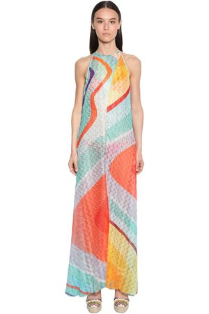Missoni | Mujer Vestido Largo De Punto 36