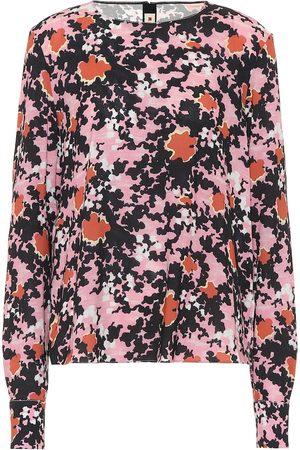 Marni Blusa de sablé floral